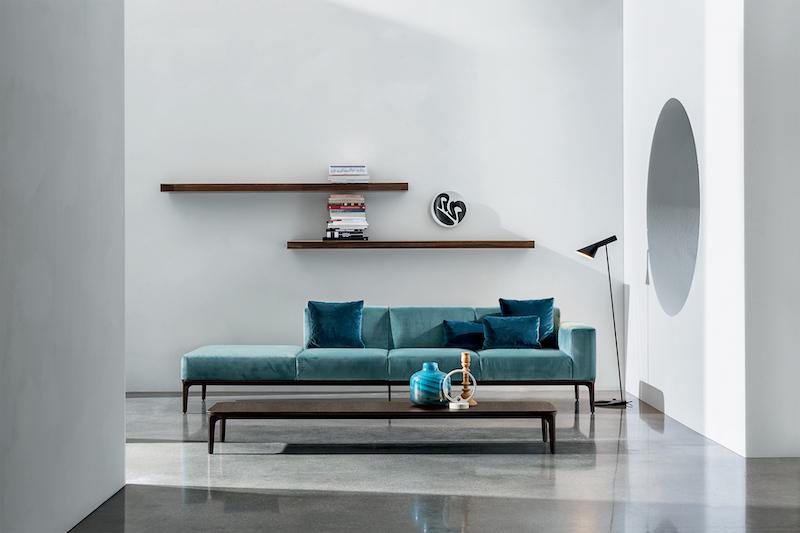 Sofa og bord; SLIM kolleksjon des: Matthias Demacker